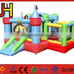 2016 Funny Double Lanes Inflatable Dry Slide For Sale