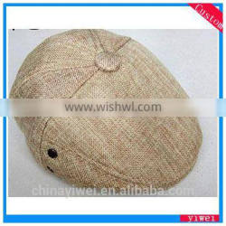 linen flax cap for middle age