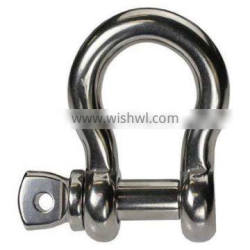 """Jingyi Silver Color Stainless Steel Screw Pin Anchor Shackles Choose From 3/6""""to 5/8"""""""