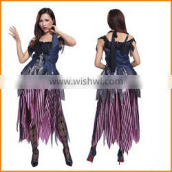 Quick sell through eplosion, Europe and the United States Halloween costumes Cosplay witch role playing devil party costumes