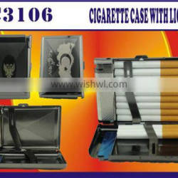 Popular product factory wholesale best quality cigarette box with lighter