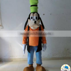 cheap dog costume/in stock mascot costume for adult