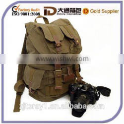 New Style Canvas Backpack Camera for Wholesale