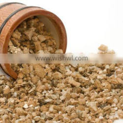 Expanded Golden Silver color vermiculite