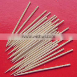 bamboo tootpick with one shape