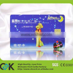 high quality CMYK 4c printing contact key card from China printing manufacturer