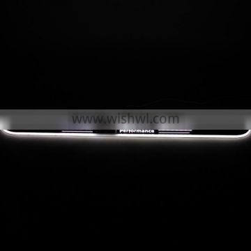 Hot sellers for B.M.W Z4 E89 2009-2013 high quality led car door sill plate light with logo light