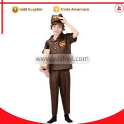 alibaba cosplay adult postman pat costume ups delivery man costume for kids