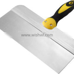 Plastic handle carbon steel putty knife/taping knife/Scraper