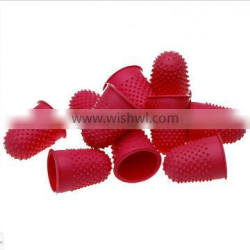 Quality Flexible Rubber Thimble, Red Size 00 14mm Finger Cone Thimble