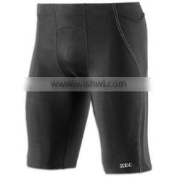 summer dry fit high quality compression sports shorts for men factory wholesale