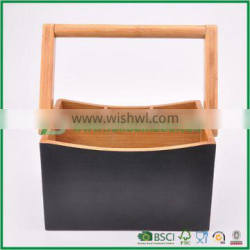 Fuboo bamboo cultery tray with handle