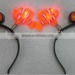 LED Flashing Fish Bopper for parties, holidays and events