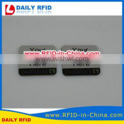 13.56MHz Ultralight RFID rf Identification Anti-metal Tag for Asset Tracking System