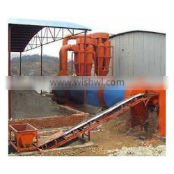 1.8x18m dryer hot selling in Brazil! gypsum rotary drier