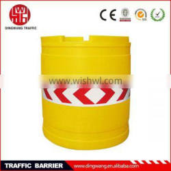 Large round road safety barrier/ mesh plastic safety barriers
