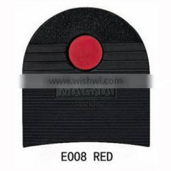 E008 RED LOGO Rubber Shoes Repair Material of MAGNA HEEL
