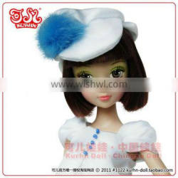 Kurhn 7th Anniversary Chinese pvc fashion doll hot toy