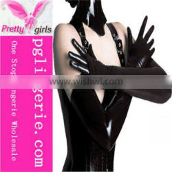 Sexy leather gloves,black leather gloves,women gloves