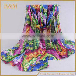 Latest hot selling!! unique design silk scarf fashion style from direct factory