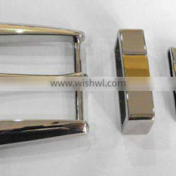 fashion buckle with 3pc set for men's belt