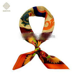 Wholesale Hot Sale Fashion Classic Artis Design Digital Printing Wensli Silk Feel Scarves