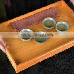 wholesale wood tray for service