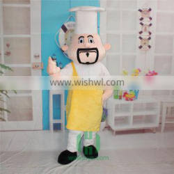 HI EN71 cheif mascot costume for adult size,wonderful curomized mascot costume for big event