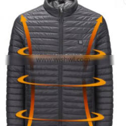 Wholesale Waterproof Mens Usb Electric Rechargeable Battery Heated Jacket