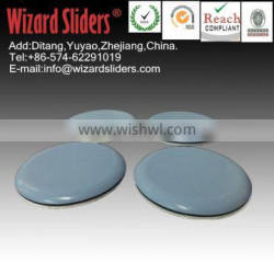 Round PTFE pad/easy move large size furniture/leg sliders/easy glide/leg adhesive pads