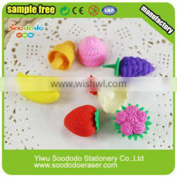 novelty products and cheap rubber-eraser yiwu mart toys factory