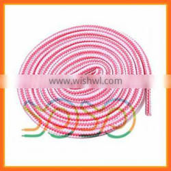 Polyester braided shoelaces