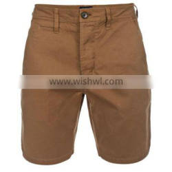 chino shorts/latest shorts/pure cotton chino shorts/chino short with side pockets/khaki color chino short