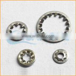 China professional manufacturing zinc plated types of lock washers