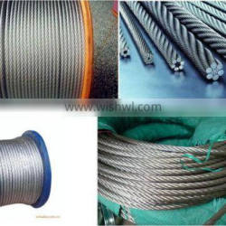 304 stainless steel wire rope 7*7