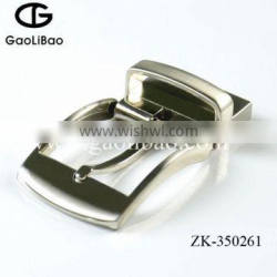 2016 hot sale wholesale 35mm zinc alloy pin buckle with turning for men ZK-350261