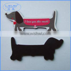 newly customized doggie shape fridge magnet