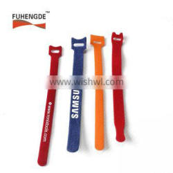 Reusable Hook and Loop Fastening Cable Ties with Microfiber Cloth