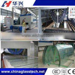 Flat And Curved Glass Toughening Tempering Furnace Oven Plant