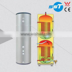 Copper coil hot water cylinder
