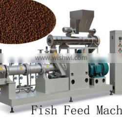 Floating tilapia and catfish fish food machinery equipment plant