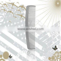 Hotel amenities set direct factory plastic hair comb double tooth comb