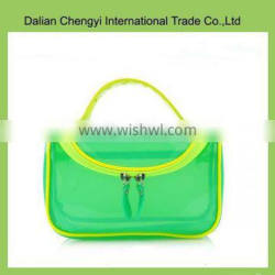 Factory price qualified ladies fancy pvc cosmetic bag