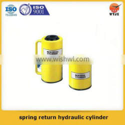 factory supply spring return hydraulic cylinder