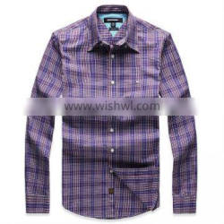 2013 Mens Fashion casual Plaid Shirts/Clothing Shirt Manufacturers
