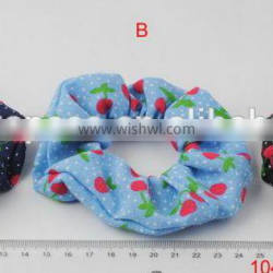 Low price quality candy hair scrunches