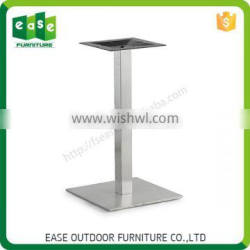 High quality furniture parts stainless steel table base modern