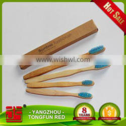 4-pack biodegradable Eco-friendly Bamboo toothbrush