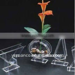 Custom acrylic flower vase for decoration