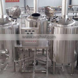 500l mirror polishing brewery brewhouse controller beer brewery equipment